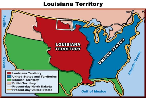 Louisiana Territory Map 1803 Homeschooling History 1500 1800 Pinterest Peircings