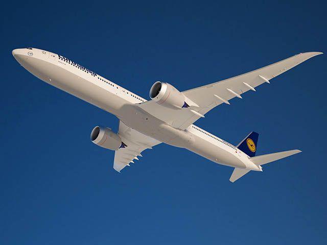 Ahora vas y lo caskas: Primeras imágenes de la cabina 777X Lufthansa