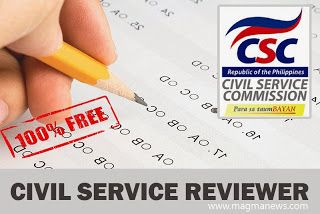 2016 Civil Service Exam Reviewer w/ Answers - Free Download