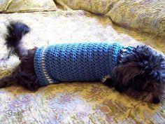 Ravelry: Size Small Dog Sweater pattern by Corina Gray
