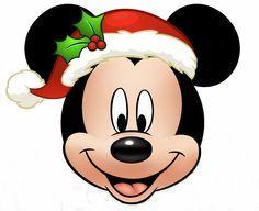 Resultado de imagen para dibujos de minnie y mickey en navidad