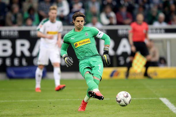 Yann Sommer Of Moenchengladbach Kicks The Ball During The Bundesliga In 2020 Kicks Bremen Still Image