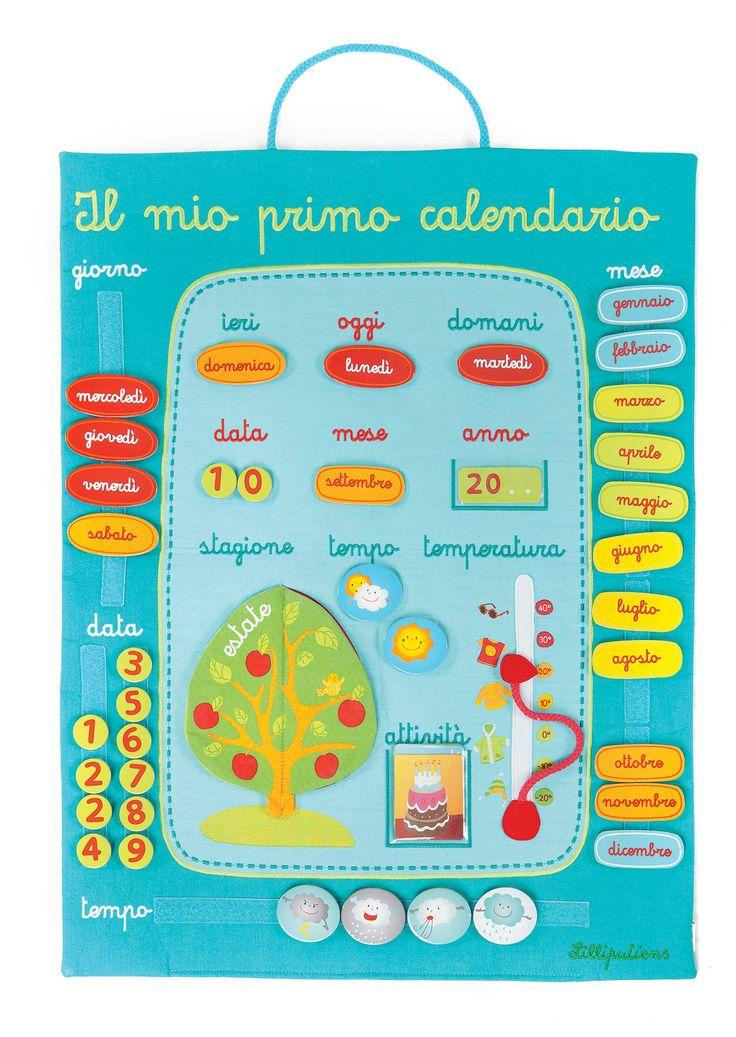 Connu Oltre 25 idee originali per Bambini calendario su Pinterest  LH42