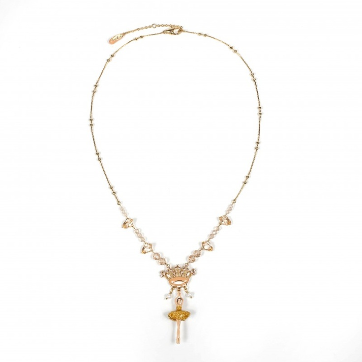 Star dancer and crown necklace