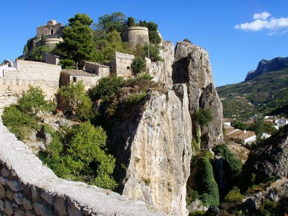 El Castell de Guadalest is a Valencian town and municipality located in a mountainous area of the comarca of Marina Baixa, in the province of Alicante, Spain.