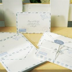Special Delivery Airmail Stationery Wishing Well Cards