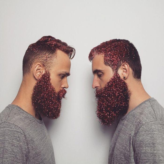 Glitter Beard | Bored Panda