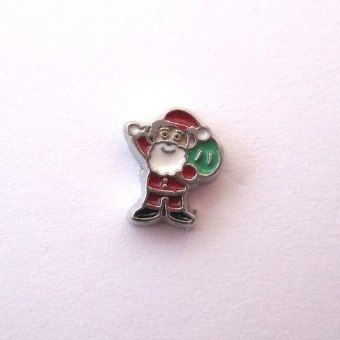 Santa with Sack – Bespoke Lockets by Annie