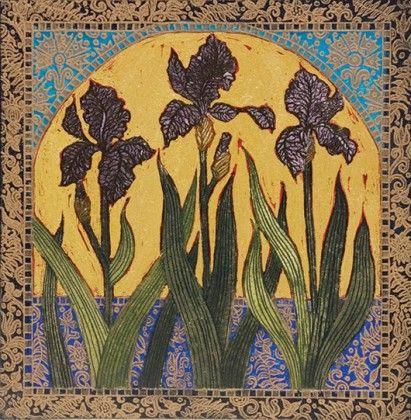 Jean Bardon - Black Iris