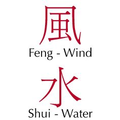 Feng Shui Chinese Characters