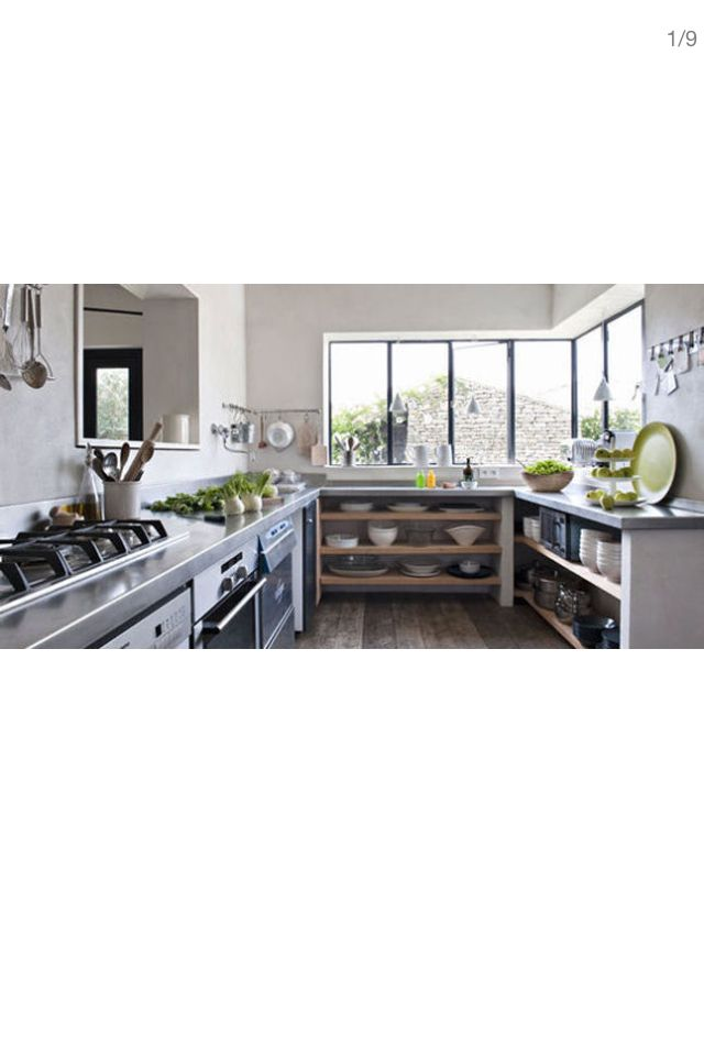 17 best images about cuisine type industriel avec carreau for Cuisine agencee