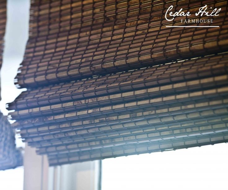 Window Blinds Sources and Information: Blinds.com BALI Natural Woven Wood Shades in the color CABO PLACID.