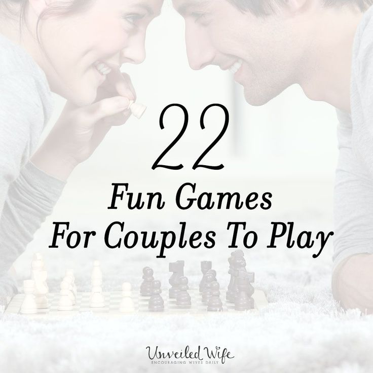 22 Fun Games For Couples To Play --- I recently shared my top 10 favorite games to play with my husband, which you can check out by clicking HERE! TheUnveiled Wife Community loved it and was inspired by it to share their favorites too. The response was overwhelming as hundreds of you menti… Read More Here https://unveiledwife.com/22-fun-games-for-couples-to-play/