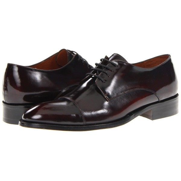 Fitzwell Thomas Cap Toe (230 BRL) ❤ liked on Polyvore featuring men's fashion, men's shoes, men's dress shoes, burgundy leather, oxfords, burgundy mens shoes, mens lace up shoes, mens burgundy dress shoes, mens leather shoes and men's cap toe oxford shoes