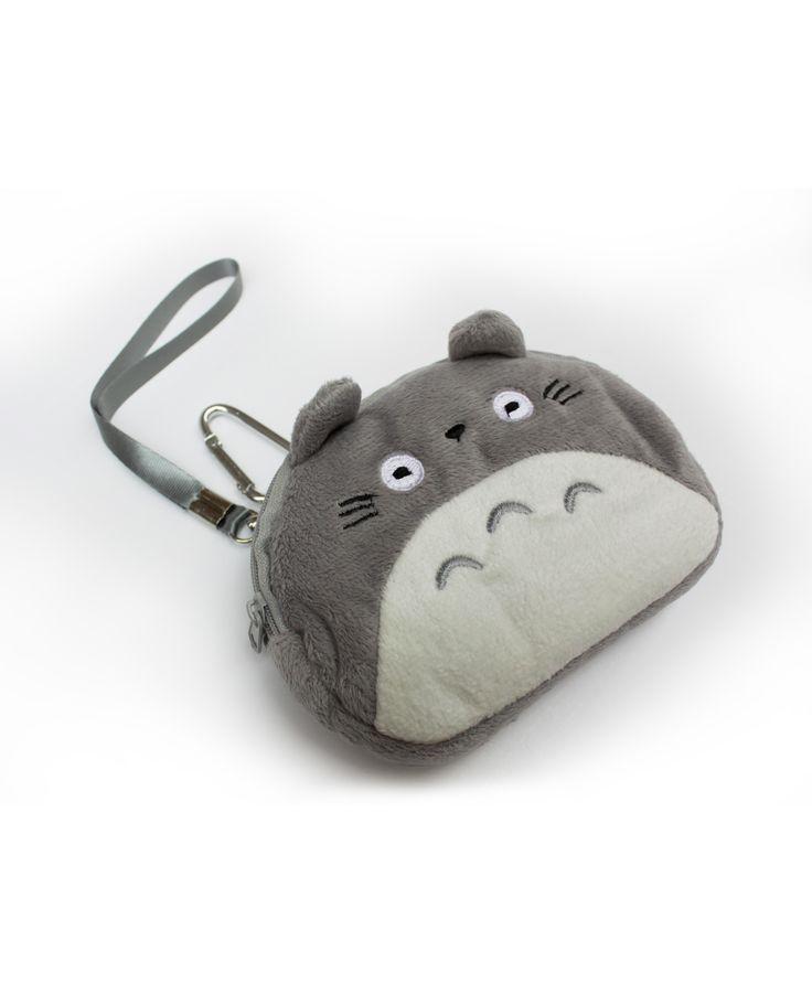 Monedero con la cara de Totoro  16€ pikapikashop.com #totoro #myneighbortotoro #kawaii #love #cute #pikapikashop #barcelona
