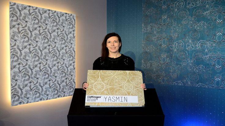 Tapetenmarkt.de TV präsentiert Eijffinger Yasmin Tapetenkollektion