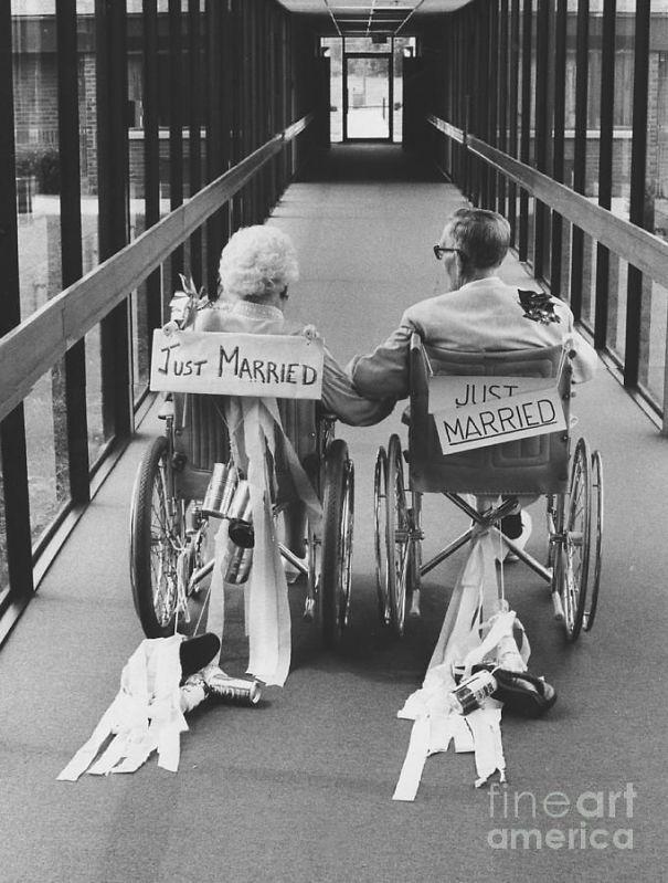 Deze koppels bewijzen dat je nooit te oud bent om te trouwen - Vrouwen.nl