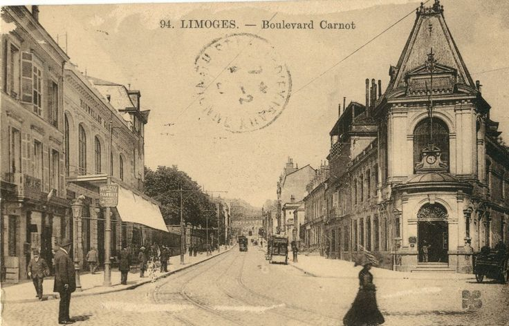 206 best limoges fin xixe d but xxe si cle images on for Hotel boulevard jourdan