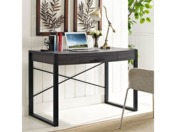 Ft Myers 48'' Computer Desk D48CG30CL from Walter E. Smithe Furniture + Design