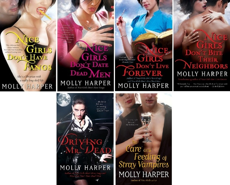 Molly Harper Jane Jameson The half moon hollow series probably my most favourite romance and paranormal romance writer!