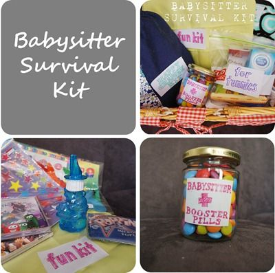 The Babysitter Survival Kit #tutorial #babysitter #kit