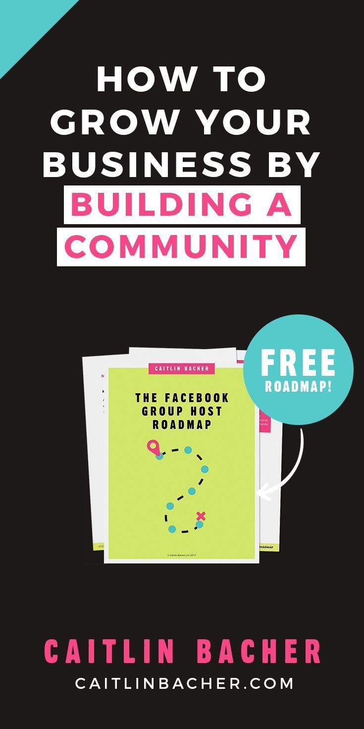 how to grow a community for website