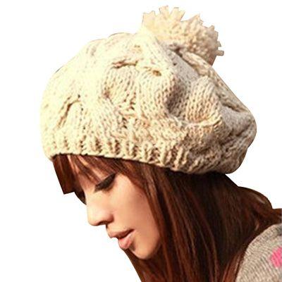 Gorro tricotado estilo Coreano