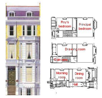 103 best dollhouse minis images on pinterest doll houses for Victorian townhouse plans