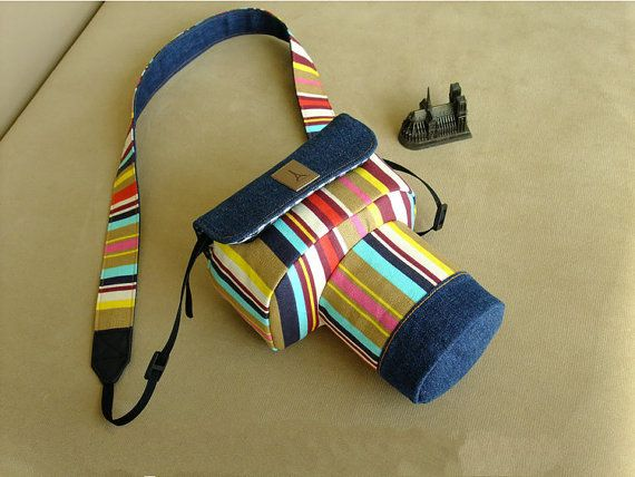 Pacific style DSLR Camera Bag For Custom Sizes by QueenieDIY
