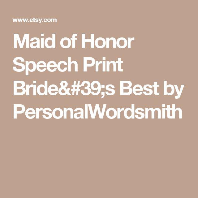 Friend Of Bride Quotes : Best ideas about friend speech on