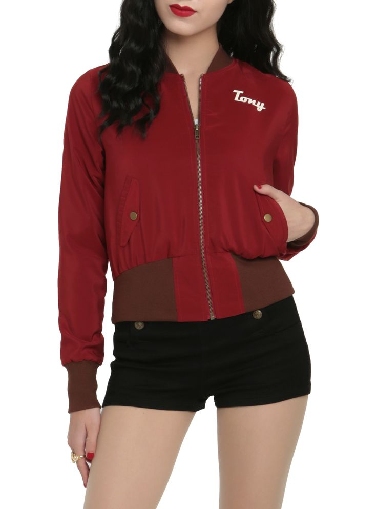 Look what's back...it's the Stark Industries bomber jacket!