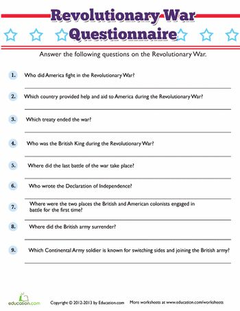 Worksheets American Revolution Worksheet 1000 images about american revolution on pinterest graphic worksheets revolutionary war trivia
