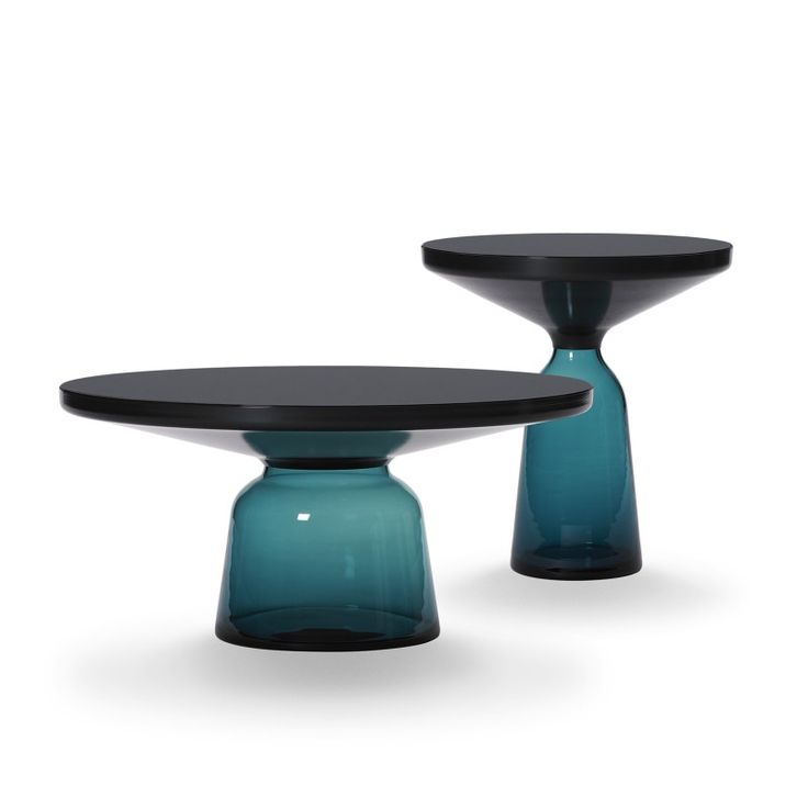 Bell Table by Sebastian Herkner new with black burnished steel
