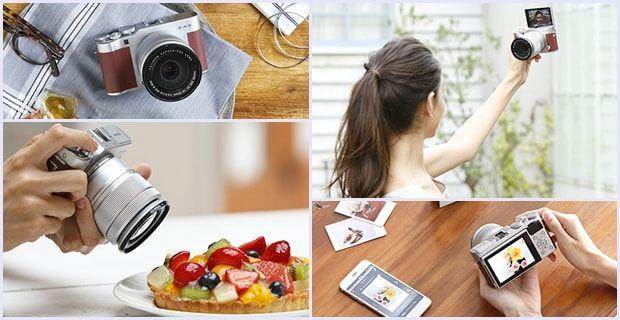 Fujifilm X-A3 – aparat foto mirrorless entry-level cu design retro și perfect pentru amatorii de selfie-uri