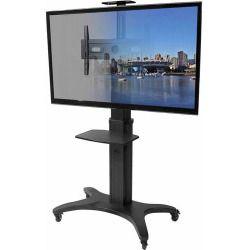 Kanto MTMA70PL Mobile TV Mount with Shelf for 40'-70' Displays