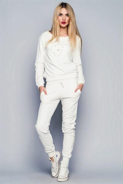 Спортивный костюм адидас женский белый
