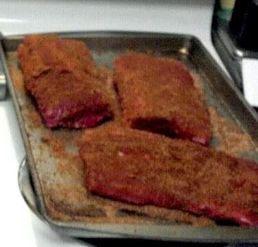 Bobby Flay s Rib Rub from Food.com: I got this recipe from one of Bobby Flay's shows and my family enjoys it.
