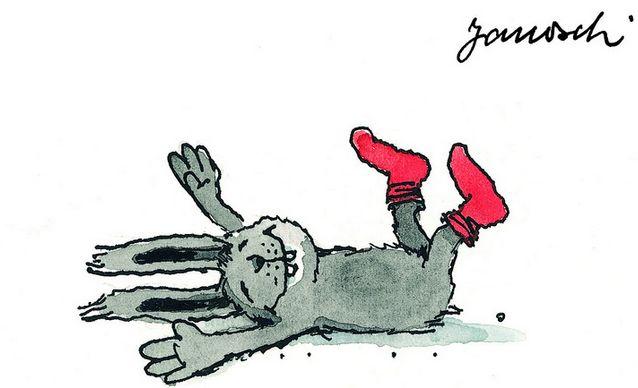 Heute mach' ich nichts. #Janosch