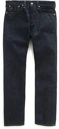Ralph Lauren RRL Straight-Fit Once-Washed Denim