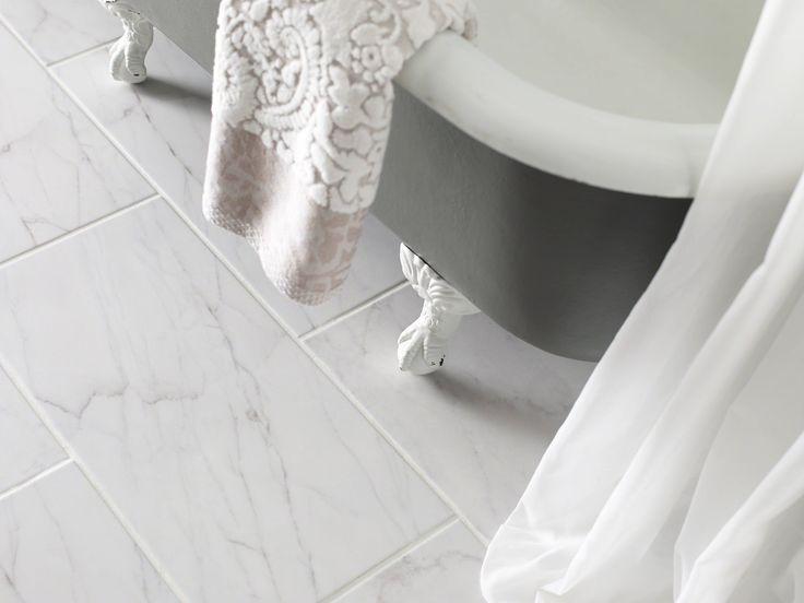 Shaw Maximus Carrara White Bathrooms Pinterest