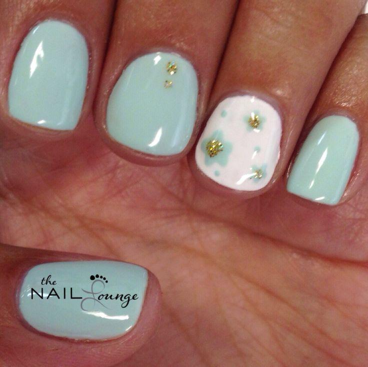 Spring Bloom Gel Nail Art Design @the_nail_lounge_miramar