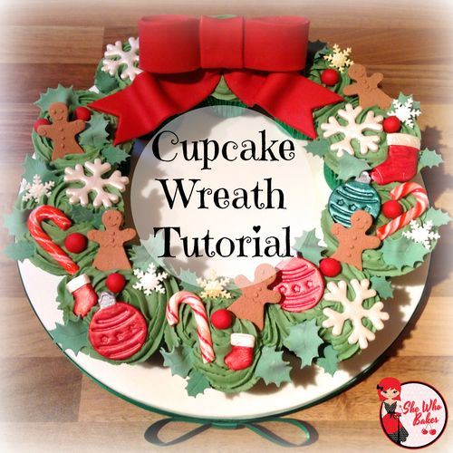 Merry Christmas to you all! If you fancy baking something a little different to a Christmas cake this year, why not try a cupcake wreath. A simple but impressive display made upMore →