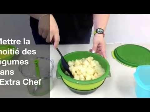 Recette Tupperware Rapide: Intelli-Vap Potage de celeri..