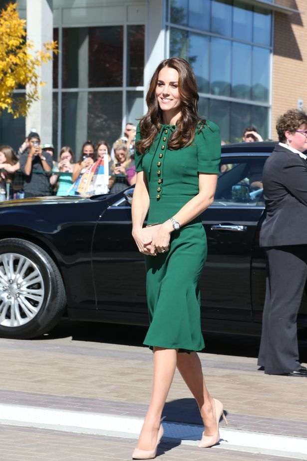 Catherine, Duchess of Cambridge visits the University of British Columbia on September 27, 2016 in Kelowna, Canada.