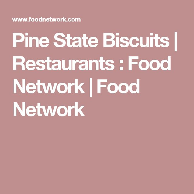 Pine State Biscuits | Restaurants : Food Network | Food Network