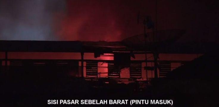 Video Wonosobo terbakar