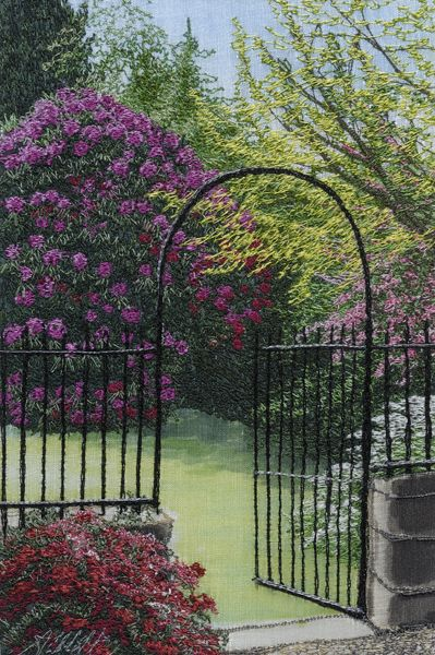 Garden gate by Alison Holt