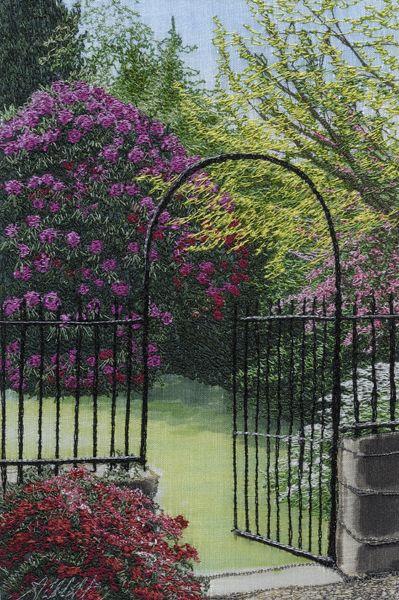 Garden gate by Alison Holt
