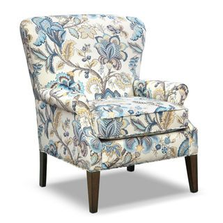 [Caroline Blue Accent Chair]