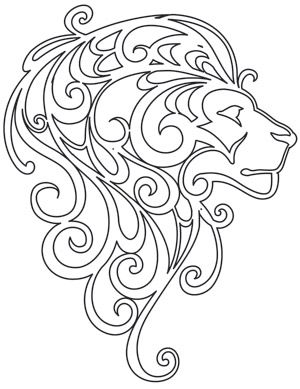 Mane Attraction   Urban Threads: Unique and Awesome Embroidery Designs